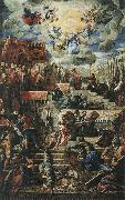 TINTORETTO, Jacopo The Voluntary Subjugation of the Provinces oil painting artist