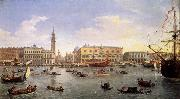 WITTEL, Caspar Andriaans van The Molo Seen from the Bacino di San Marco oil painting artist