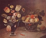 William Buelow Gould Flowers and Fruit oil painting artist