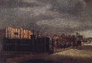 Cornelis Bol View of Arundel House and the West Garden oil painting artist