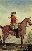 Louis Carrogis Carmontelle Louis-Philippe, duke of Orleans, in the hunt suit oil painting artist