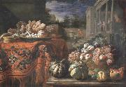 Pier Francesco Cittadini Style life with fruits and sugar work oil painting artist