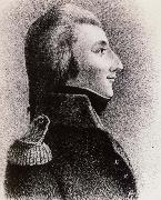 Thomas Pakenham Wolfe Tone in the Uniform of a French Adjutant general as he apeared at his court-martial in Dublin oil painting artist