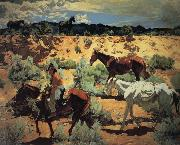 Walter Ufer The Southwest oil painting artist