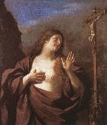 GUERCINO Mary Magdalene in Penitence oil painting artist