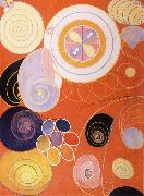 Hilma af Klint They tens mainstay IV oil painting artist
