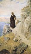 Vasily Polenov Returning to Galilee in the Power of the Spirit oil painting artist