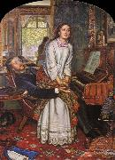 William Holman Hunt Unknown work oil painting artist
