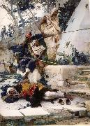 Baron Antoine-Jean Gros Arab Guards on the Watch oil painting artist