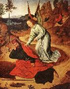 Dieric Bouts Prophet Elijah in the Desert oil painting artist
