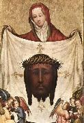 MASTER of Saint Veronica St. Veronica with the Holy Kerchief oil painting artist