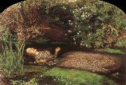 Sir John Everett Millais Ophelia oil painting artist