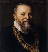 ZUCCARO Federico Self-Portrait aftr 1588 oil painting artist