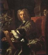 Francesco Solimena Self-Portrait oil painting artist