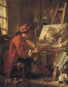 Francois Boucher Young Artist in his Studion oil painting picture wholesale