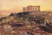 Frederic E.Church The Parthenon from the Southeast oil painting picture wholesale