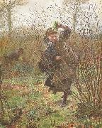 Frederick Walker,ARA,RWS Spring (mk46) oil painting picture wholesale