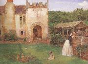 John William North,ARA Halsway Court (MK46) oil painting picture wholesale