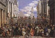 Paolo Veronese The Marriage at Cana oil painting artist