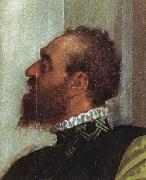 Paolo Veronese Detail from The Feast in the House of Levi oil painting artist