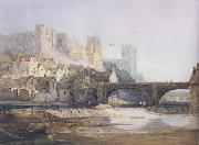 Samuel Prout Part of Durham Bridge (mk47) oil painting picture wholesale