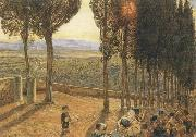 William Holman Hunt Festa at Fiesole oil painting artist
