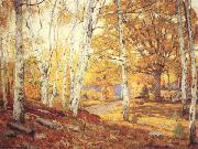 William Wendt Sycamores and Oaks oil painting artist