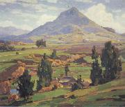 William Wendt The Soil oil painting artist