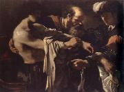 GUERCINO return of the prodigal son oil painting artist