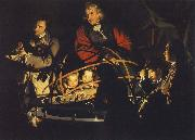 Joseph Wright Instrument of the solar system oil painting artist