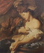 LISS, Johann The Death of Cleopatra oil painting artist