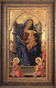 MASACCIO Virgin and Child oil painting artist