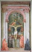 MASACCIO The Trinity oil painting artist