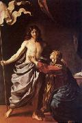 GUERCINO Apparition of Christ to the Virgin oil painting artist