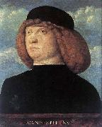 Giovanni Bellini Portrait of a Young Man oil painting artist