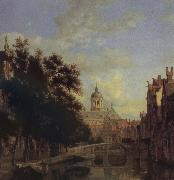 Jan van der Heyden City Vision oil painting artist
