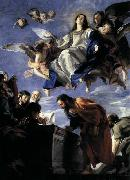 Juan Martin Cabezalero Assumption of the Virgin oil painting artist