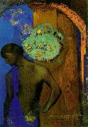 Odilon Redon Saint John, oil painting artist