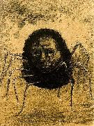 Odilon Redon The Crying Spider oil painting artist