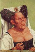 Quentin Matsys A Grotesque Old Woman oil painting artist