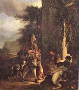 Jan Weenix After the Hunt oil painting artist