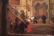 Jean-Leon Gerome Eminence grise oil painting artist
