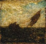 Albert Pinkham Ryder The Waste of Waters is Their Field oil painting artist
