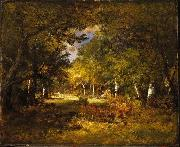 Brooklyn Forest Scene oil painting artist