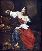 Nicolas Regnier Allegory of Vanity oil painting artist