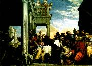 Paolo  Veronese feast in the house of simon oil painting artist