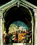 Paolo  Veronese presentation of christ oil painting artist