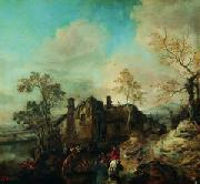 Philips Wouwerman Wouwerman ratsanikud oil painting artist