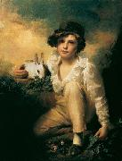 Sir Henry Raeburn Henry - Boy and Rabbit oil painting artist