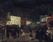William Glackens The Country Fair oil painting artist